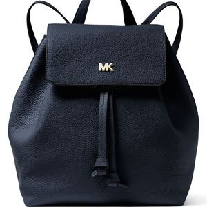 60986fe5e87f Michael Kors. Michael Kors Junie Medium Flap Backpack Leather. NWT